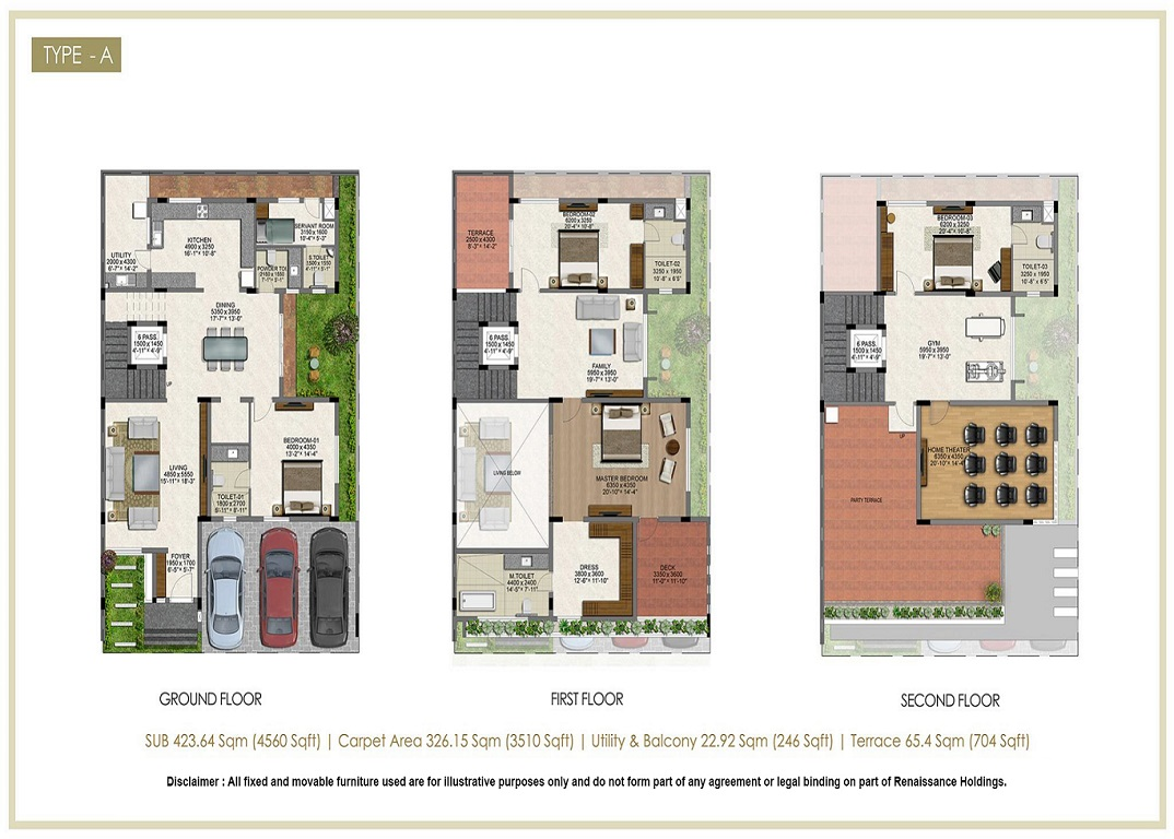 Renaissance Nature Walk Floor Plan1