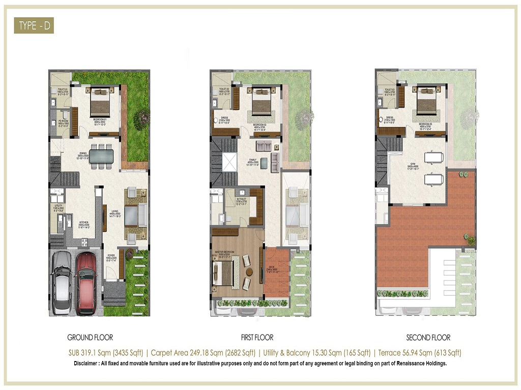 Renaissance Nature Walk Floor Plan3